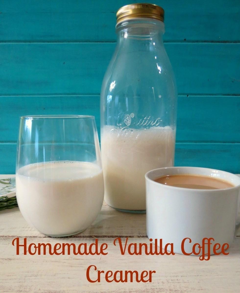 Vanilla Coffee Creamer