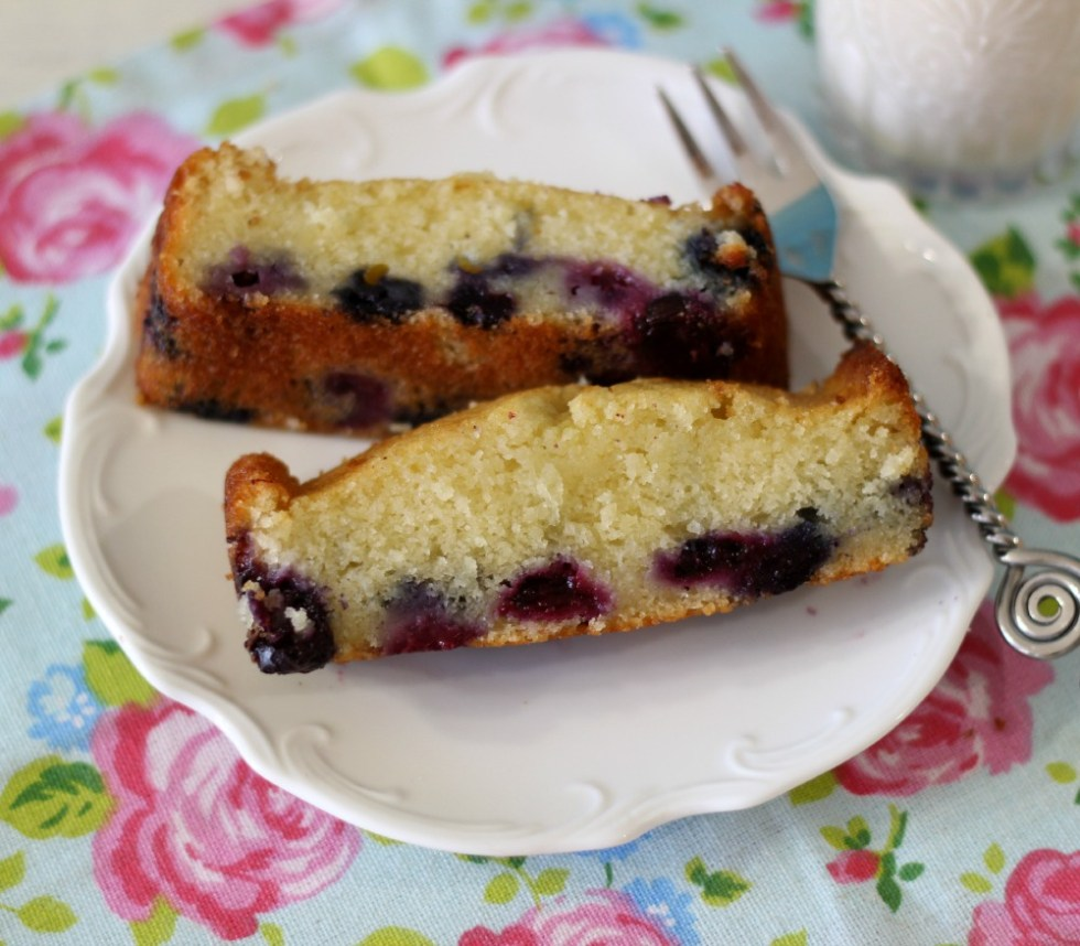 Blueberry Cake Loaf