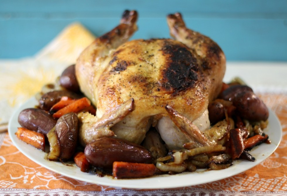 Chicken Skillet Roast