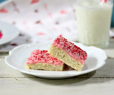 Valentine's LoftHouse Cookie Bars