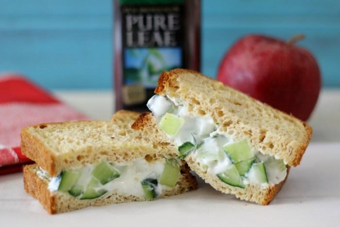 Cucumber & Dill Sandwich