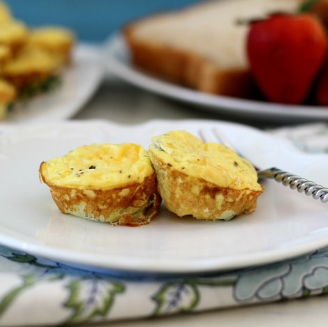 Mini Jalapeno and Cheese Egg Bites
