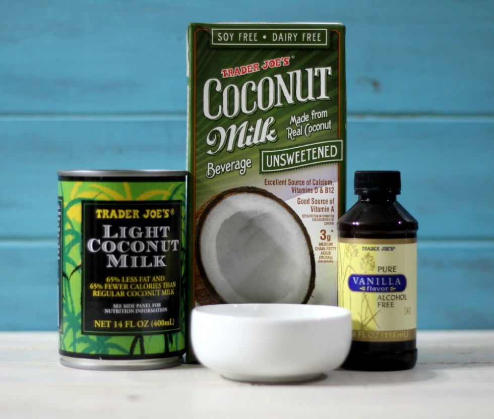 Non-Dairy Vanilla Coffee Creamer Ingredients