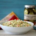 Farmers Garden Orzo Pasta Salad #FarmtoJar