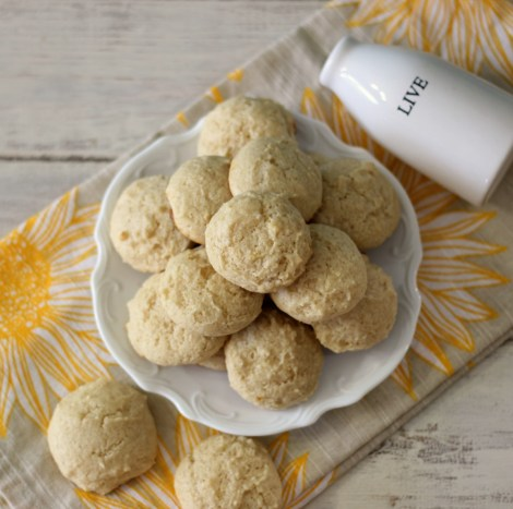 Lemon Cookies #SundaySupper