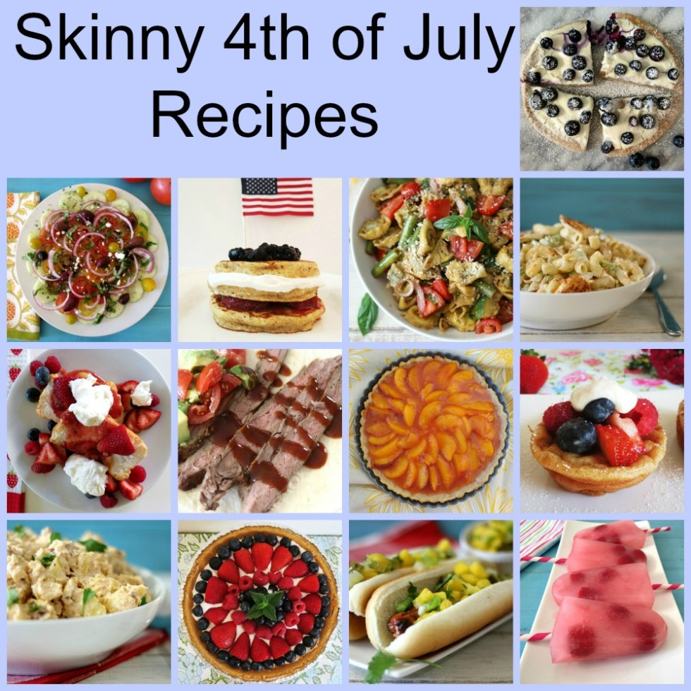 Skinny 4th of July Recipes