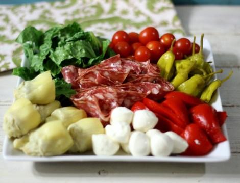Antipasto Salad #hometailgate