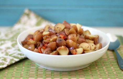 Bacon  and Potato Hash
