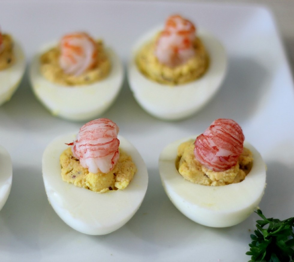 Cajun Style Deviled Eggs #SundaySupper