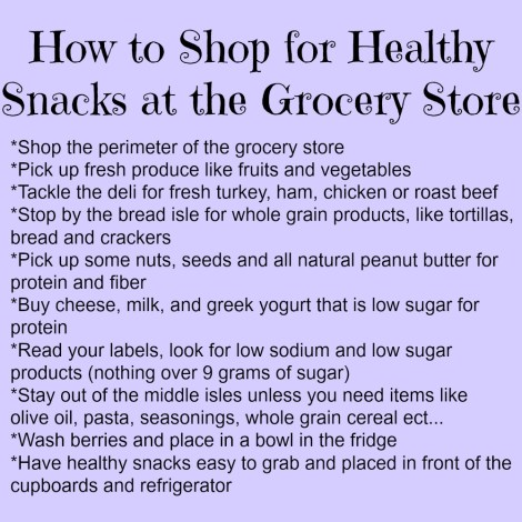 How to Shop Healthy at the Grocery Store