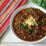 Tex Mex Chili in Crock-Pot