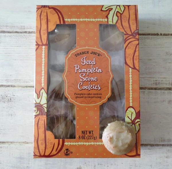 Trader Joes Ice Pumpkin Scone Cookies