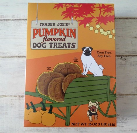 Trader Joes Pumpkin Dog Treats