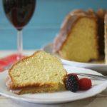 Lemon Pound Cake #SundaySupper