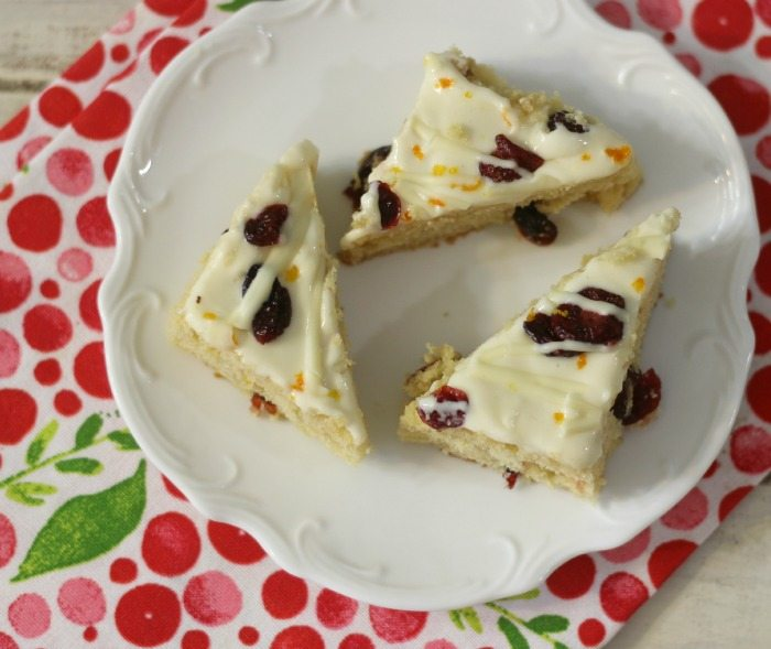 Lightened Up Cranberry Bliss Bars