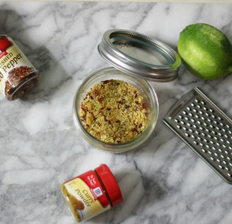 Mango Curry Lime Salt Recipe #FlavorForecast
