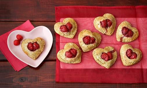 Dole Heart in Hand Tarts Recipe