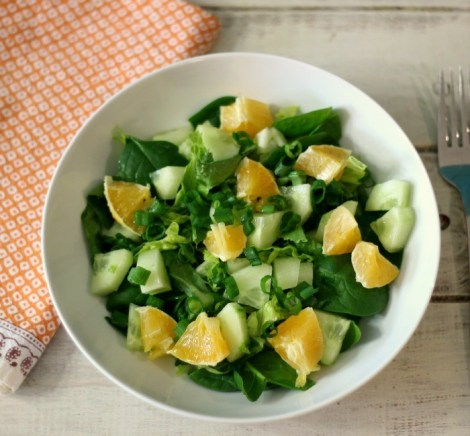 Simply Orange Side Salad