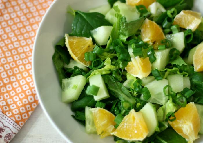 Simply Orange Side Salad