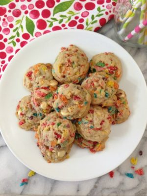 Fruity Pebbles Cookies | Peanut Butter and Peppers Bowl Of Fruity Pebbles Calories