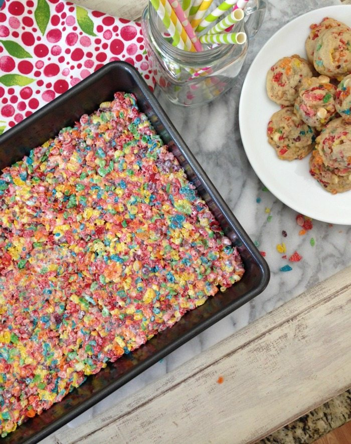 Fruity Pebbles Cookies and Treats