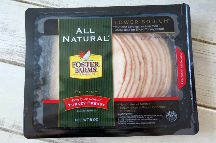 Foster Farms All Natural Oven Roasted Turkey  Slices #DontCallMeBasic