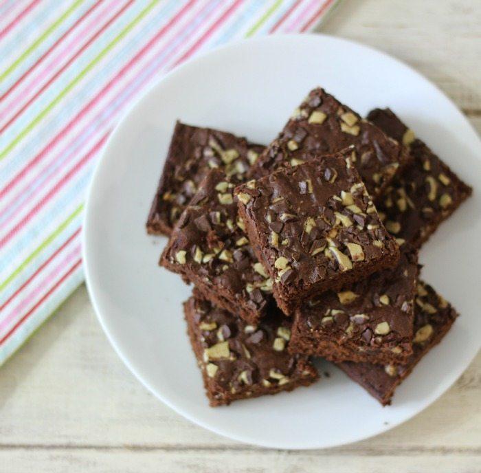 Andes Candies Brownies #OXOGoodCookies