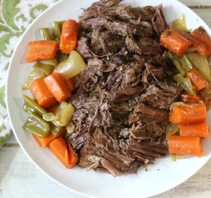 Beef Pot Roast 004a#SundaySupper #PerfectRoast