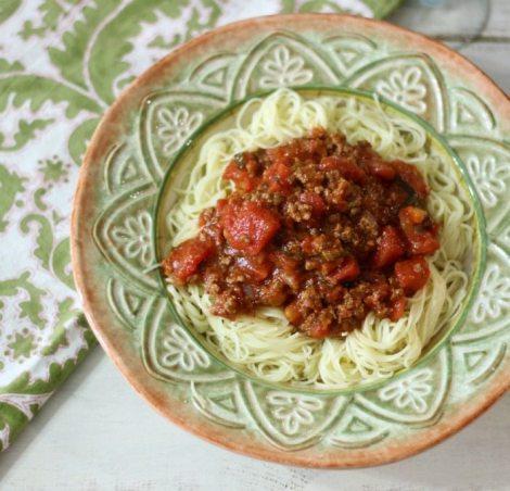 Spicy Spaghetti Sauce #FoodLovesMilk