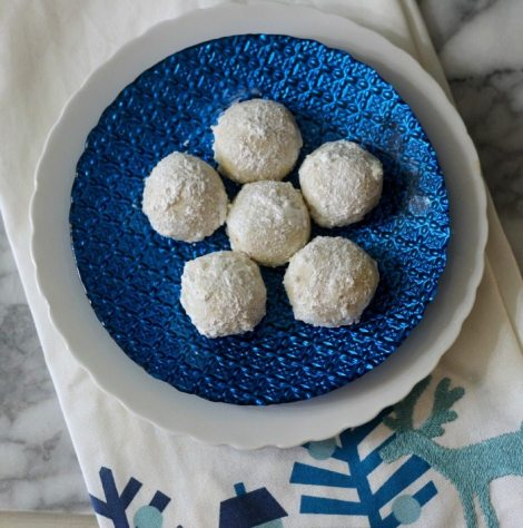 Snowball Cookies (Aka Wedding Cookies)
