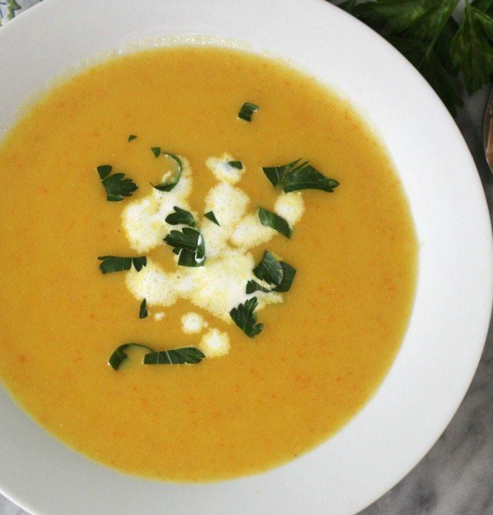 Potato Carrot Leek Soup