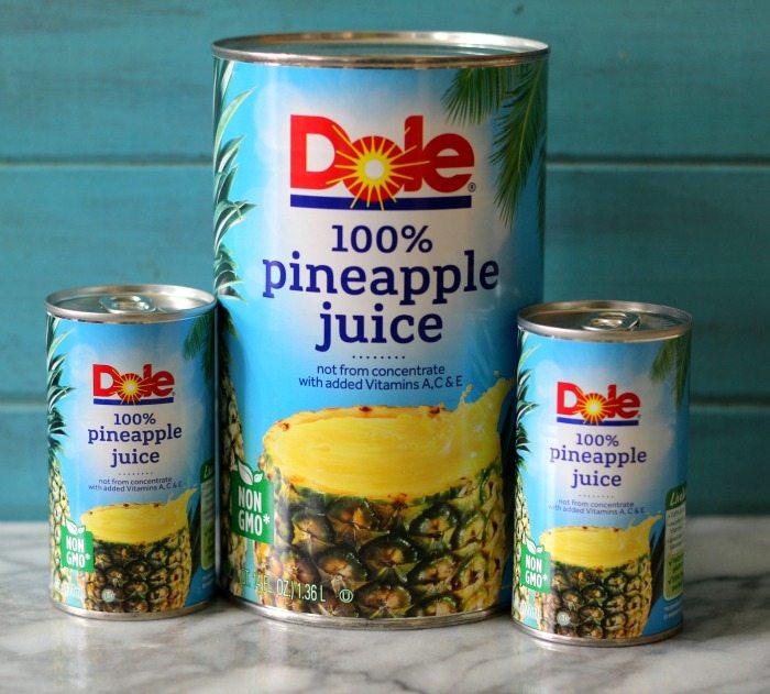 100% DOLE® Canned Pineapple Juice