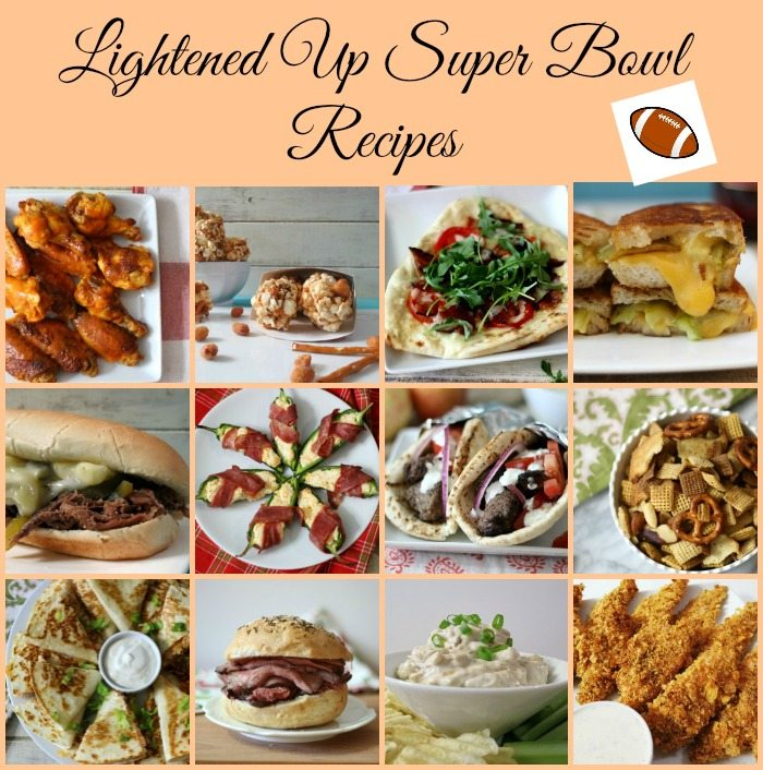 Lightened Up Super Bowl Recipes