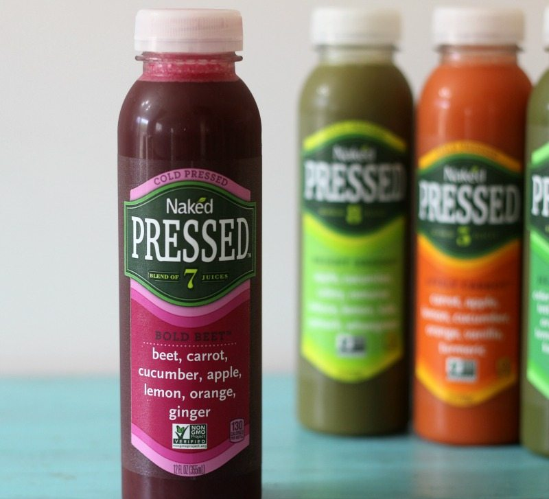Naked Cold Pressed Juice Bold Beet