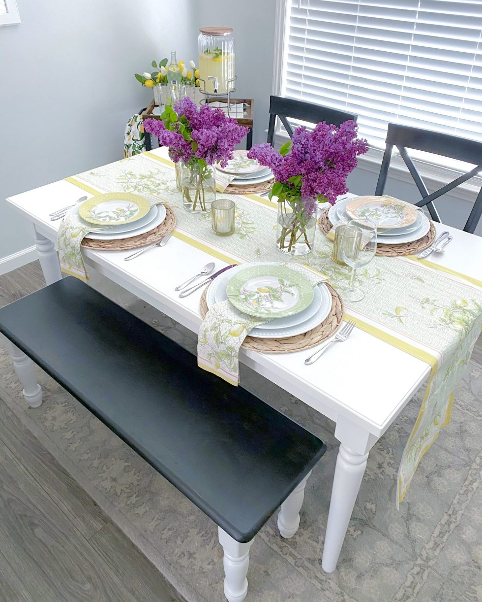 Spring into Summer Tablescape