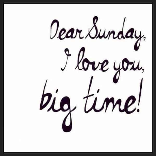 Dear Sunday