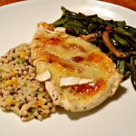 Brie and Apricot Chicken