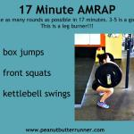 Front Squat Workout + Fueling The Workouts