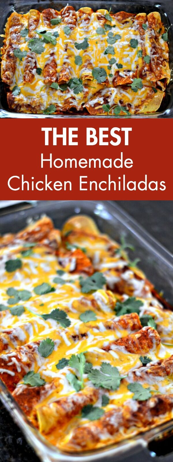 Homemade Chicken Enchiladas
