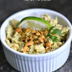 Avocado, Cashew & Lime Tuna Salad