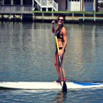 Stand Up Paddle Board Yoga + This Week's Workouts