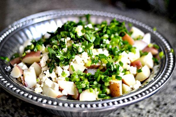Feta Potato Salad Ingredients