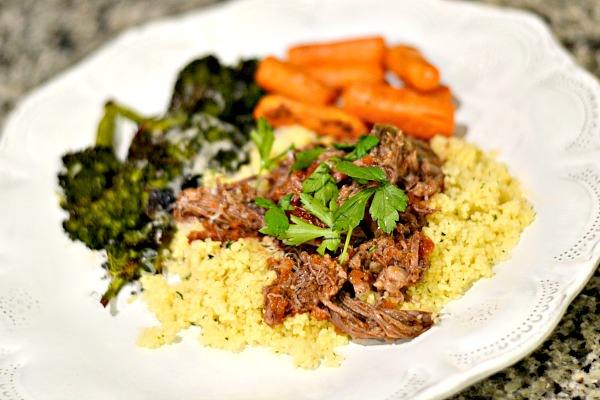 Three Ingredient Pot Roast Cous Cous