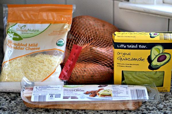sweet potato ingredients