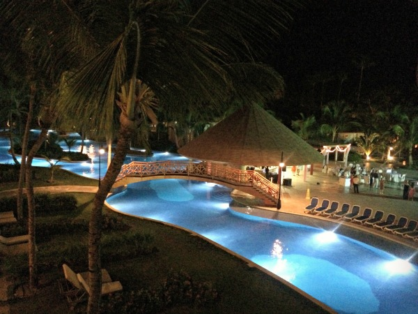 Majestic Colonial Resort at Night