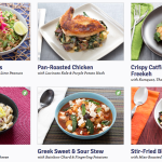 A Week of Meals with Blue Apron
