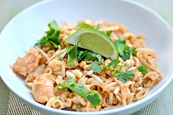 The best easy homemade pad thai recipe the recipe im sharing with you today is a shrimp and chicken pad thai but note that you can use any combo of proteins that you would like forumfinder Images
