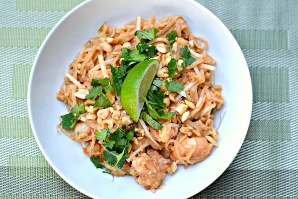 Homemade Pad Thai Recipe