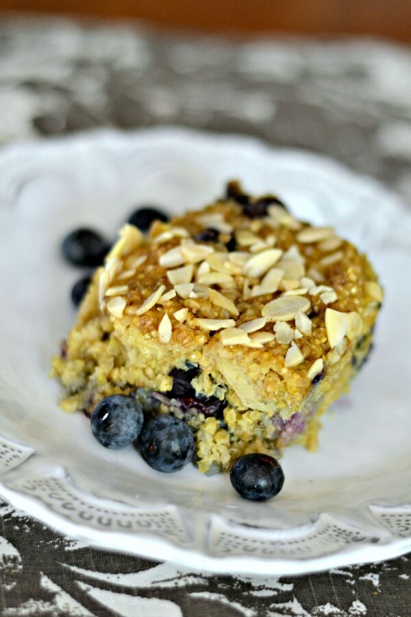 Quinoa Breakfast Bake Plain