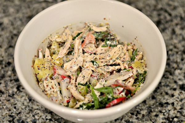Blue Apron Chicken Mixture
